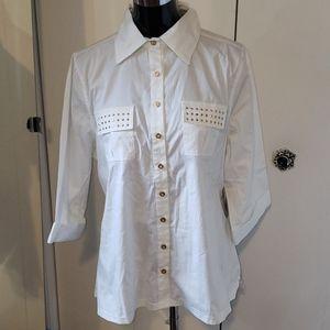 🌻2 for $35🌻  NWT cotton DEREON shirt sz 1x